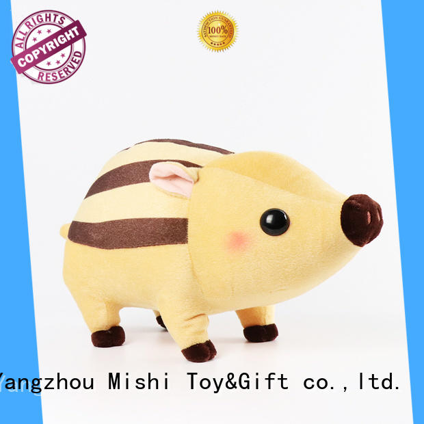 Mishi top custom plush toy with hoodies for business