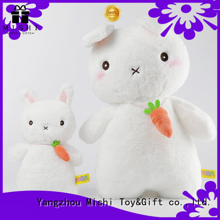 Mishi latest bulk plush toys with hoodies for business