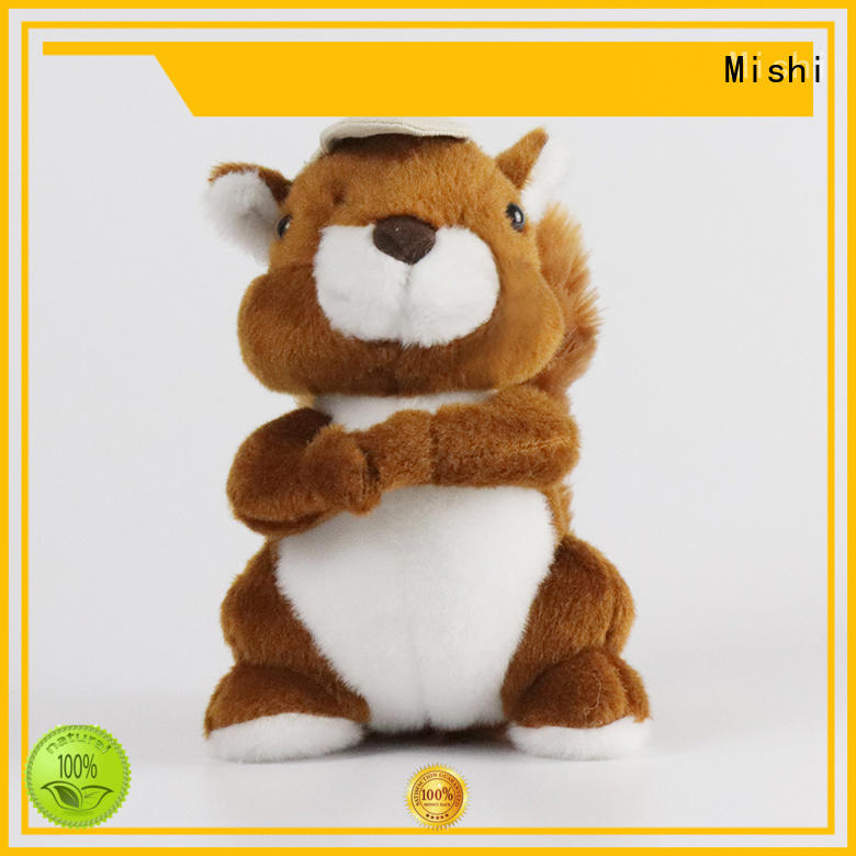 Mishi bull best plush toys with custom logo for gifts