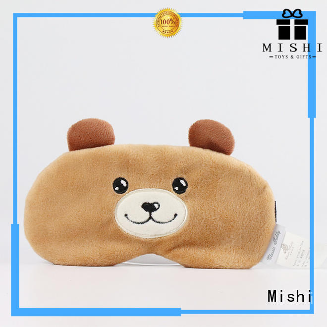 Mishi best eye cover with logo for business