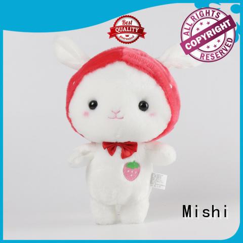 Mishi best custom plush toys with custom logo for prasents
