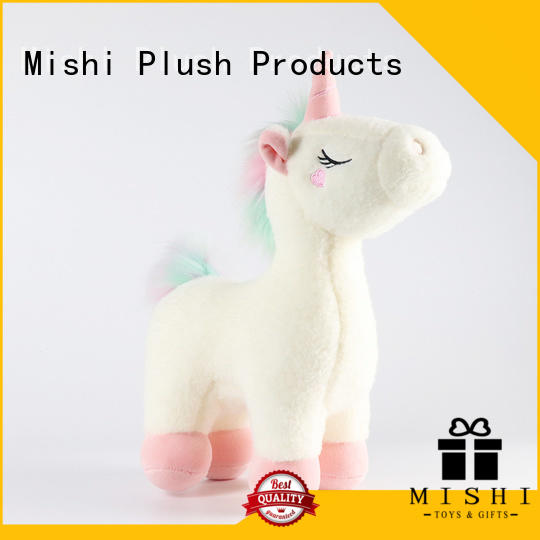 Mishi top custom plush toy company for gifts